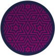 rug #918082 | round borders rug