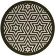 rug #918225 | round borders rug