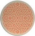 rug #918253 | round beige borders rug