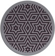 rug #918289 | round purple borders rug