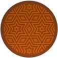 rug #918318 | round graphic rug