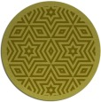 rug #918373 | round light-green borders rug