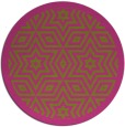 rug #918381 | round light-green graphic rug