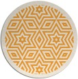 rug #918401 | round white rug