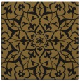rug #920585 | square black damask rug