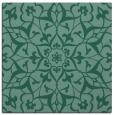 rug #920621 | square blue-green damask rug