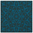 rug #920629 | square blue-green rug