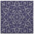 rug #920657 | square blue-violet damask rug