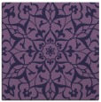 rug #920665 | square purple damask rug