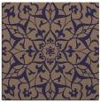 rug #920673 | square blue-violet damask rug