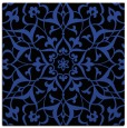 rug #920737 | square black damask rug
