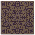 rug #920805 | square purple damask rug