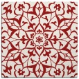 rug #920821 | square red traditional rug
