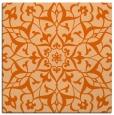 rug #920833 | square red-orange traditional rug