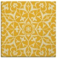 rug #920869 | square yellow traditional rug