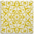 rug #920881   square yellow damask rug