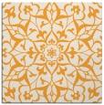 rug #920921 | square light-orange damask rug