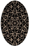 rug #920938 | oval traditional rug