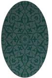 rug #920967   oval damask rug