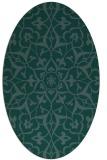rug #920968 | oval damask rug