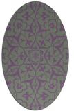 rug #921112 | oval damask rug