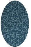 rug #921224 | oval traditional rug