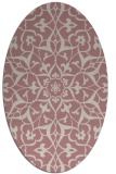 rug #921274 | oval traditional rug