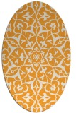 rug #921282 | oval traditional rug