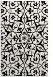 rug #921289 |  white damask rug