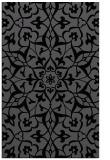 rug #921293 |  black damask rug