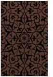 rug #921301    brown damask rug