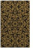 rug #921305    black damask rug
