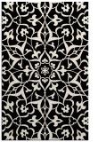 rug #921349 |  blue-green damask rug