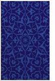 rug #921389 |  blue-violet rug