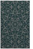 rug #921417 |  green damask rug