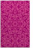rug #921501 |  pink damask rug