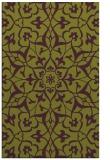 rug #921521 |  purple damask rug