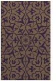rug #921525 |  purple traditional rug
