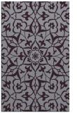 rug #921529 |  purple traditional rug