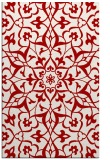 rug #921533 |  red traditional rug