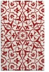 rug #921541 |  red traditional rug