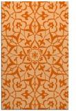rug #921553 |  red-orange damask rug