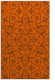 rug #921557 |  red-orange traditional rug