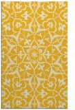 rug #921589 |  yellow damask rug