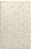 rug #921593 |  yellow traditional rug