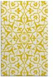 rug #921601 |  yellow traditional rug