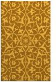 rug #921605 |  light-orange damask rug