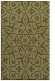 rug #921625 |  light-green traditional rug
