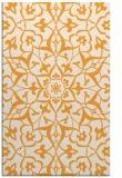 rug #921641 |  light-orange damask rug
