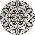 rug #921651   round damask rug